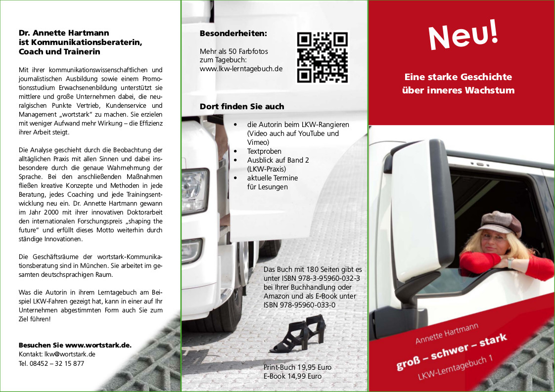 Flyer zum Buch Seite 1