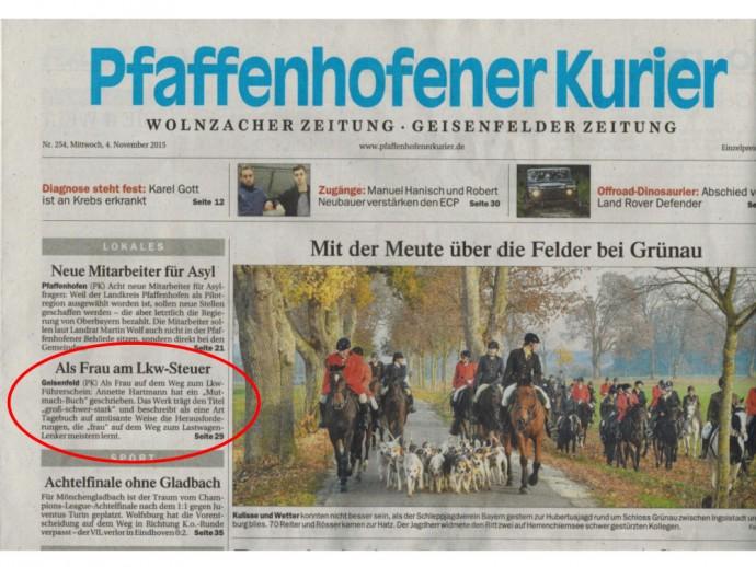 Pfaffenhofener Kurier vom 04.11.15